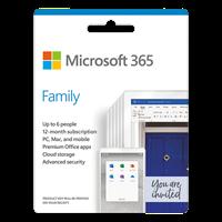 Gói Microsoft 365 family english APAC EM SUBscr 1 Year