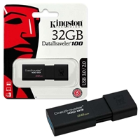 USB Kingston 32GB DT100G3 usb 3.0 / ĐEN
