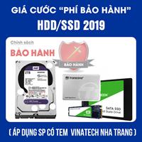 Bảo hành SSD - HDD