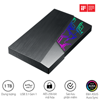 ASUS FX HDD EHD-A1T 1TB Portable HDD