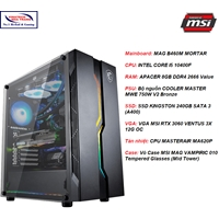 Bộ máy gaming MSI VNT