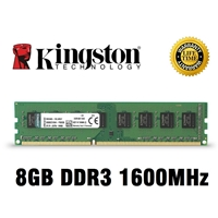 KINGSTON 8GB 1600 DDR3 VALUE