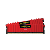 Ram Corsair (2 x 8GB) 16G bus 2666 C16 Vengeance LPX - RED