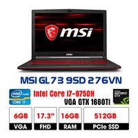 LapTop MSI GL73 9SD-276VN