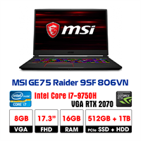 LapTop MSI GE75 9SF-806VN