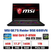 LapTop MSI GE75 Raider 9SE-688VN