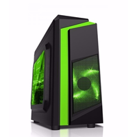 CASE SAMA ESPORT 2 BLACK / GREEN