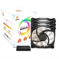 FAN CASE SEGOTEP REXGB FANS 1200 RGB FAN KIT 3PCS