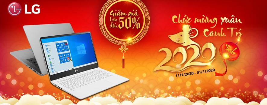 Chương trình khuyến mại Tết âm lịch sẽ bắt đầu từ hôm nay 13/1 cho đến hết 31/1 laptop