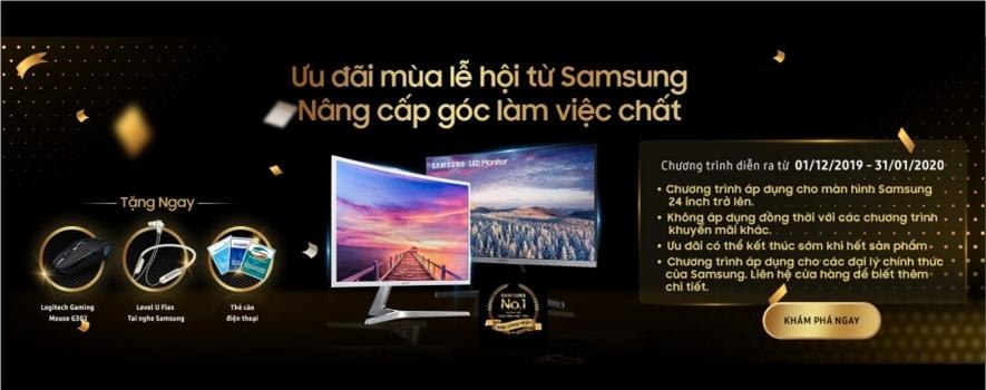 Chương trình khuyến mãi từ Samsung